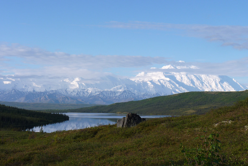 Denali and Wonder Lake from a different angle