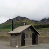 Latrine at the Toklat River Rest Stop