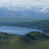We also have a nice view of Wonder Lake as clouds begin to engulf the foothills of the Alaska Range.