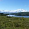 Denali reflected in Wonder Lake