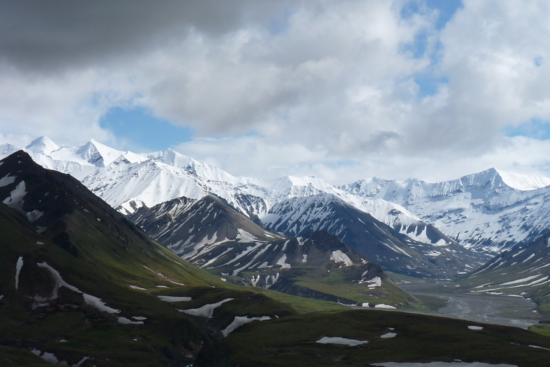 The Thorofare River from the Eielson Visitor Center.