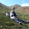 Another day in Denali; another rest break in a flower-filled meadow.