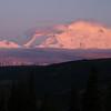 Denali in alpenglow