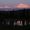Denali reflected in Nugget Pond
