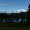 We're pretty excited to have this view from the lodge at Camp Denali on what will be our first real hiking day.