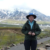 Patti, just happy to be in Denali National Park...