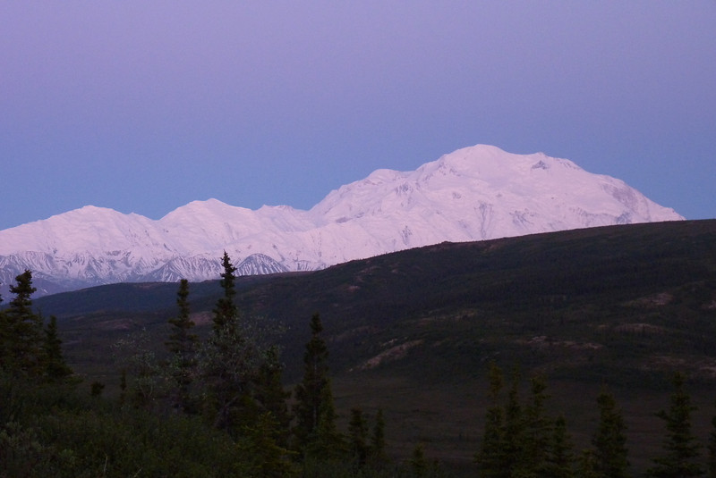 And here's what Denali looks like at 1:45 am.