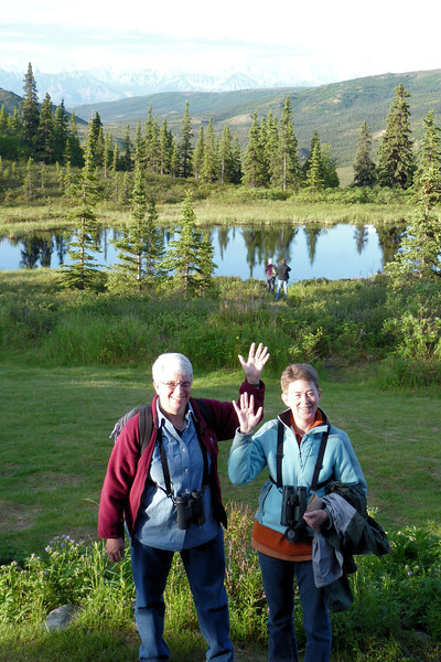 We wave goodbye to Camp Denali.