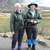 A weather-beaten pair at the Eielson Visitor Center