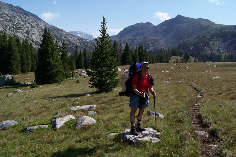 """We make sure to enjoy this easy section of the trail, since it will soon begin what our trail guide described as an """"insanely steep"""" climb."""
