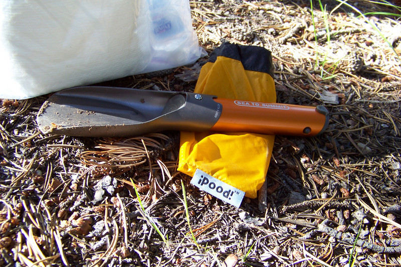For the uninitiated, the proper way to dispose of human waste in the wilderness is to bury it in a hole 6-8 inches deep. This is our new sh*t shovel (aka turd trowel) for this trip; the name sold us!