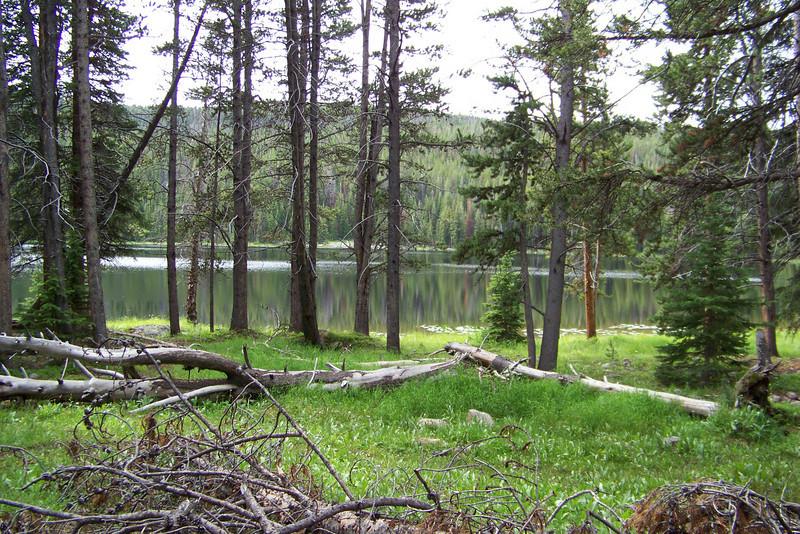 We pass Grace Lake.