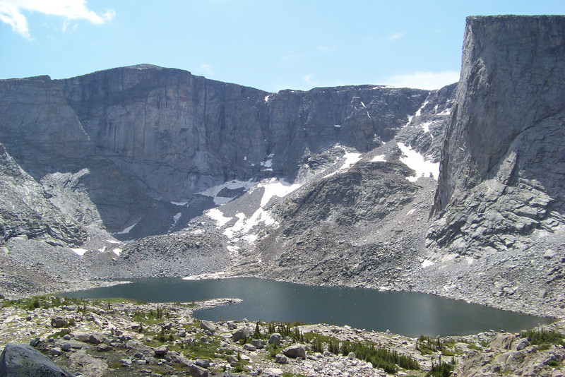 The upper of the Lost Twin Lakes