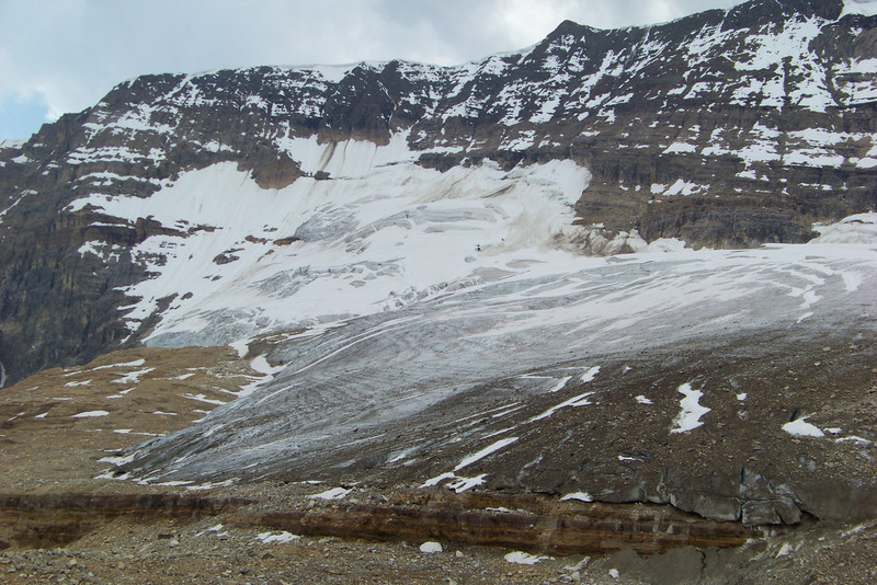 The Iceline trail showcases a lot of ice!