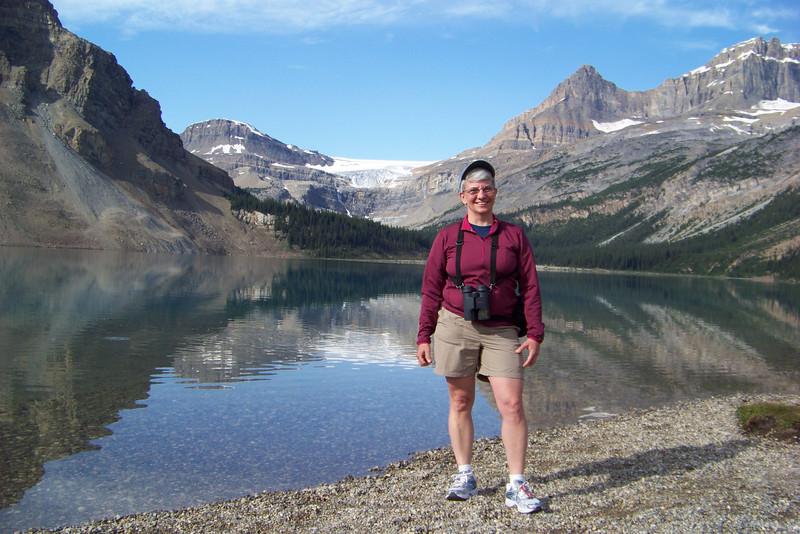 Jeane at Bow Lake