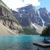 A last look at Moraine Lake and the Valley of the Ten Peaks