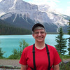 We head west to our next Canadian national park (Yoho National Park), and arrive at our lodge for the evening.  It's the Emerald Lake Lodge, named for the lake behind Jeane.