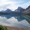 Bow Lake -- the view looking the other direction toward the Crowfoot Glacier is equally stunning