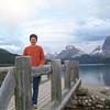 Patti, Bow Lake, Crowfoot Glacier