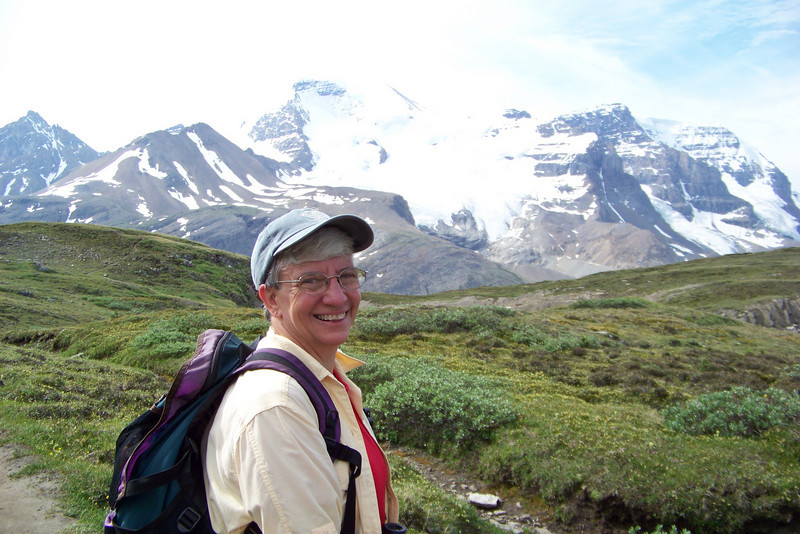 Alpine meadows and glacier views -- pretty much sums up this trail.