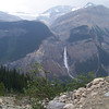 Of course we can't keep ourselves from photographing Takakkaw Falls on the way down the trail.