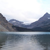 Bow Lake with Bow Glacier in the background