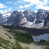 Our trail takes us to Eiffel Lake, nestled in the Valley of the Ten Peaks.