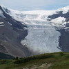 Yesterday, Sami (our glacier tour guide) told us that the icefall makes up only about 2% of the Columbia Icefield.  From this vantage point we can begin to imagine the 98% we can't see.