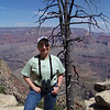 Jeane at the Grandview Overlook, South Rim of the Grand Canyon