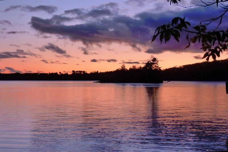 Sunset at White Iron Lake