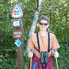 Next up...we proceeded north along the lake shore to hike the Oberg Mountain Loop...a trail that gets rave reviews.