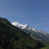Monsieur Mont Blanc, as Nathalie calls it, peeking out.