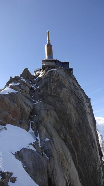 Aiguille du Midi - the needle