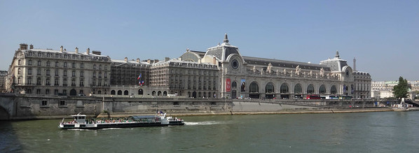 Day 2 - July 6, 2013:  We get to spend time at Musée d'Orsay, looking at Impressionist works in a  converted railway station.