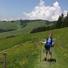 Happy hiker (Patti felicitas)