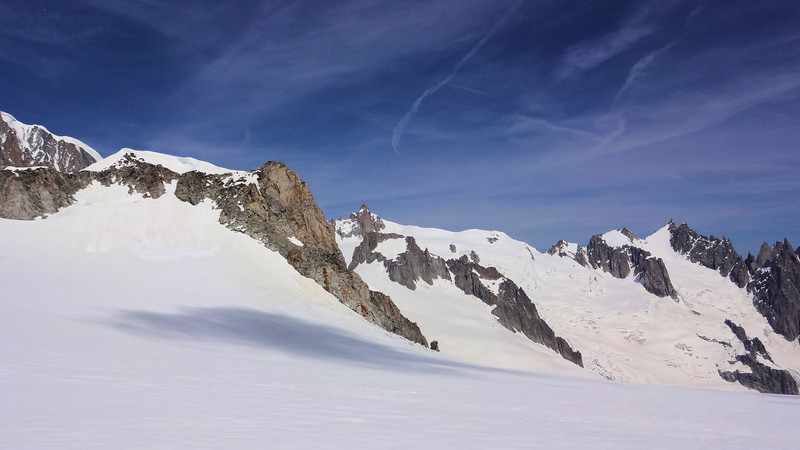 Once again...the Aiguille du Midi watches over us...