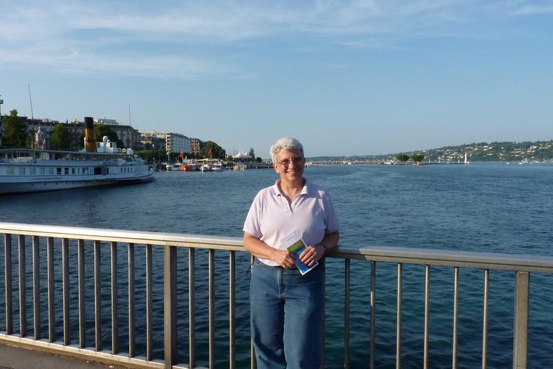 Hanging out by Lake Geneva