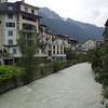 Across the river is our hotel for the next two nights, the Grand Hotel des Alpes,