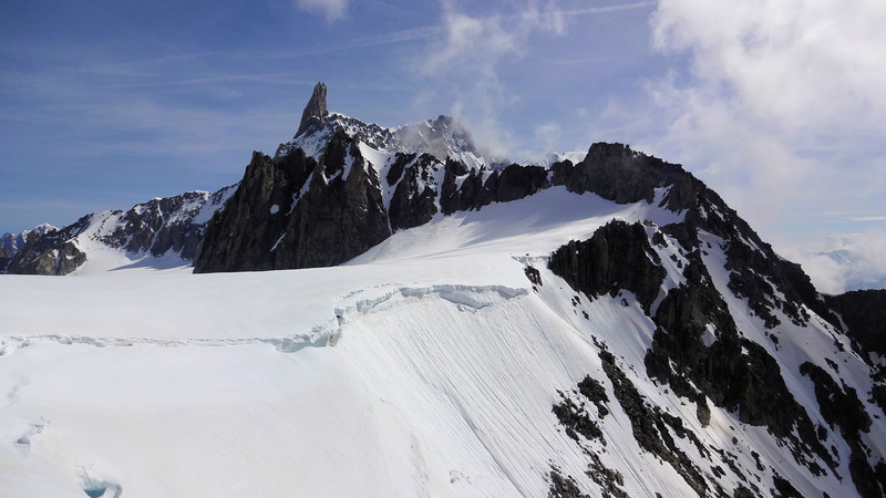 We'll be hiking this glacier today...