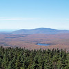 Stratton Mountain is the highest peak in the Southern Green Mountains of Vermont.  It's interesting how the trees just below us are almost entirely evergreens, while those at lower elevations are deciduous.
