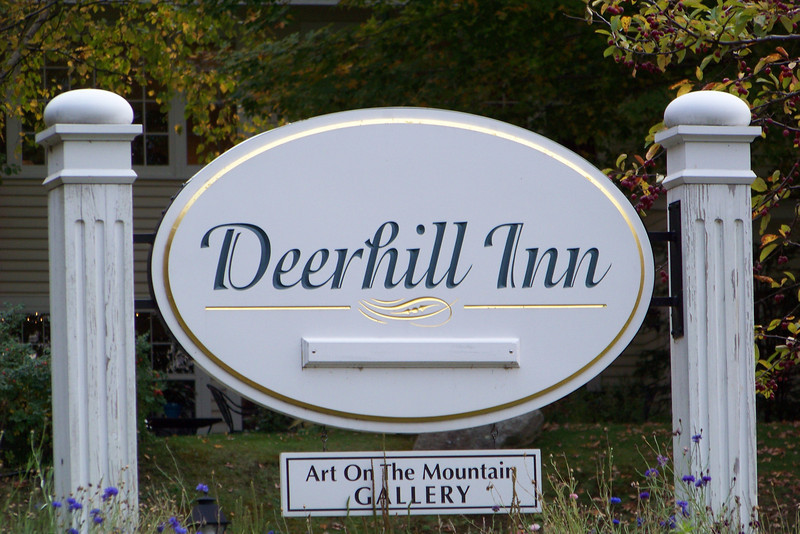 And then finally, back to the Deerhill Inn for our wedding-night dinner.