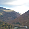 A nice look at Franconia Notch from Artist Bluff