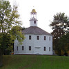 "This is a ""famous"" round church in Richmond, Vermont, which is also used for the town's meetings...a New England tradition."