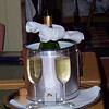 The Deerhill Inn package includes a bottle of champagne, which we'll enjoy tonight.