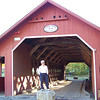 We have time to take in some scenery along the way, including this covered bridge in Brattleboro, Vermont.