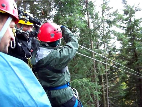 Video highlights of our Zipline adventure