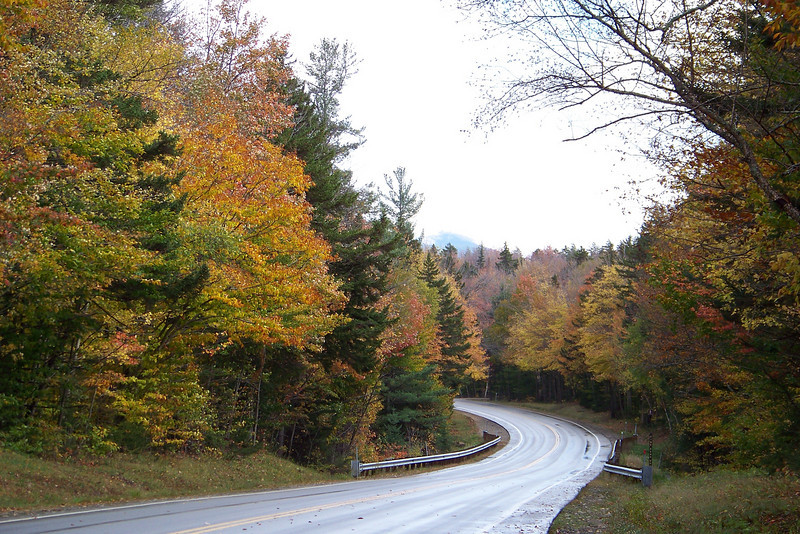 We stopped to enjoy the scene wherever the trees were particularly beautiful! Kancamangus Highway, New Hampshire