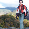 Patti on Bald Mountain in Franconia Notch State Park