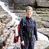 Patti at Lye Brook Falls