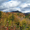 The clouds added drama and intensified the color, at times.  Kancamangus Highway, New Hampshire